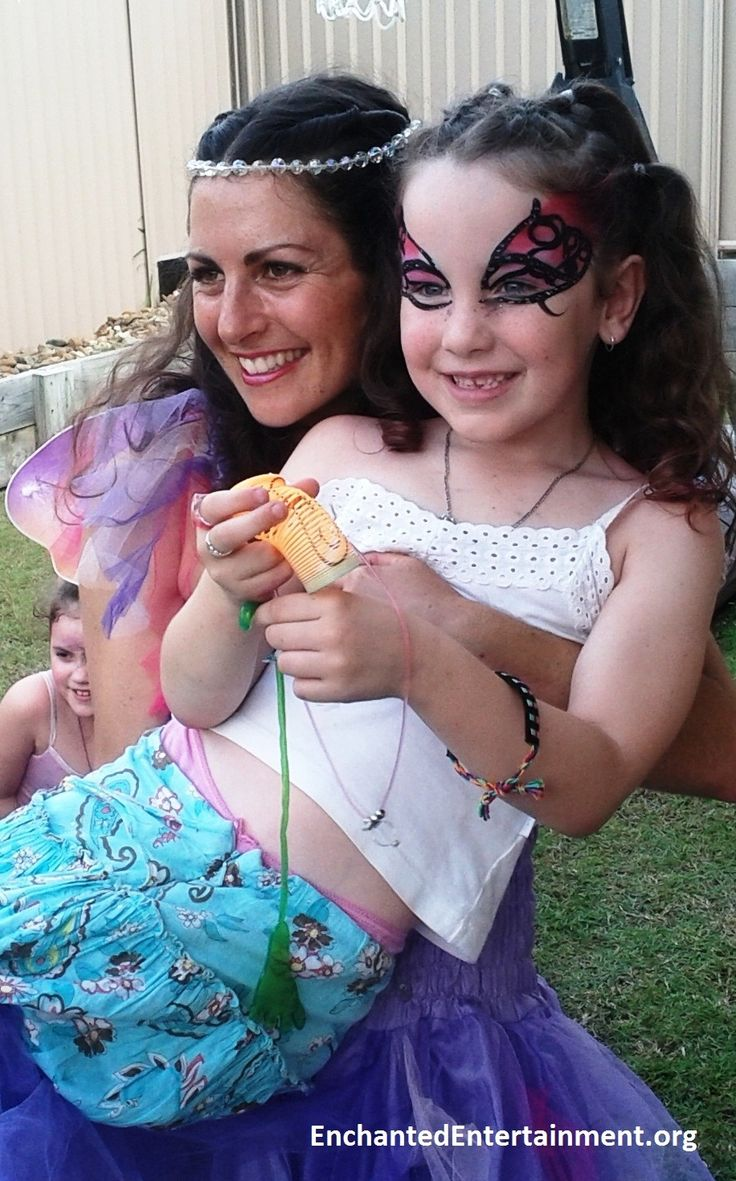 Lotus Fairy Goddess & Birthday Girl! Character entertainment & face painting by EnchantedEntertainment.org  Character Parties, Face Painting & Entertainment for Children  Northern NSW & Gold Coast, Australia