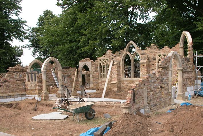 61 best images about english folly on pinterest gardens for Garden folly designs