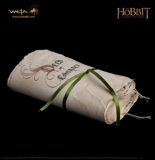 The Contract of Bilbo Baggins. Could do something like this with our wedding vows at a #geekywedding