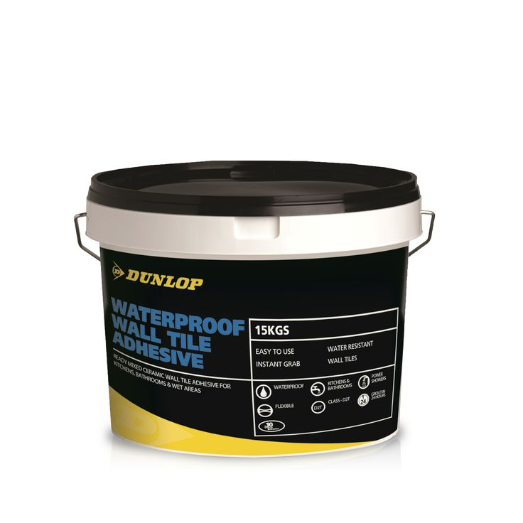 Wall tile adhesive - Dunlop Trade is a supplier of tile adhesives.