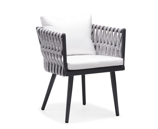 Indosoul Rown Dining Chair Matte Black Aluminum With Tubular Grey Outdoor  Rope And Sunbrella Coverings CasualEames Saarinen Replica Organic Chair Perth   creditrestore us. Eames Saarinen Replica Organic Chair Perth. Home Design Ideas