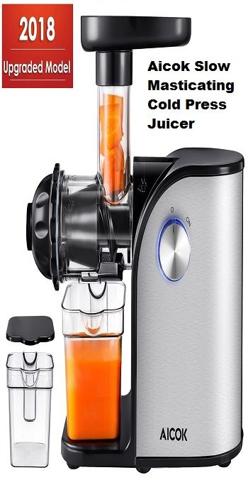 Top 10 Best Cold Press Juicers Reviews Buying Guide 2019 Best