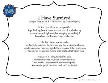 Retirement Song Lyrics for I Will Survive | Song lyrics ...