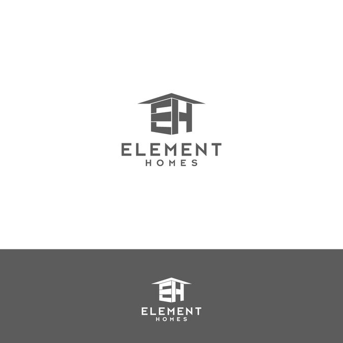 Modern/Contemporary home builder logo by aphdesigns