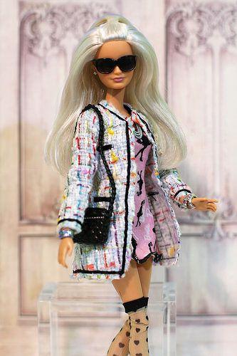 Chanel inspired coat | Platinum Pop borrowed MC2 Adrian Atto… | Flickr