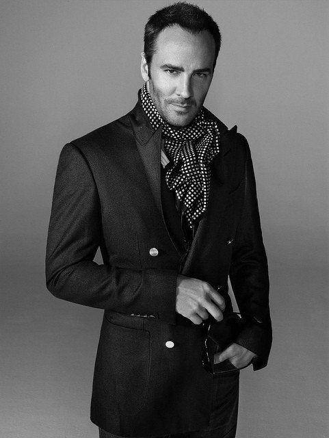 Tom Ford (my man ;) can my future husband please have the same ideals on what it means to be a man like him!