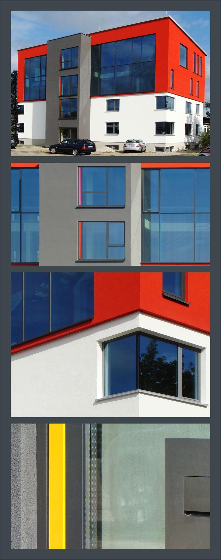 Der Neubau für die Fenster- und Türenausstellung der Fa. Armbruster Bauelemente nimmt immer mehr Form an.