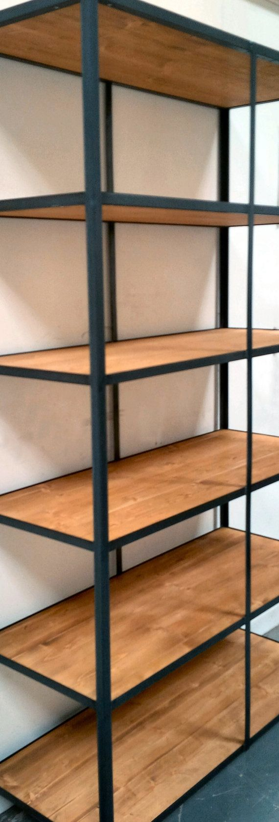 Industrial Style Shelving Unit By Ppmwoodshop On Etsy
