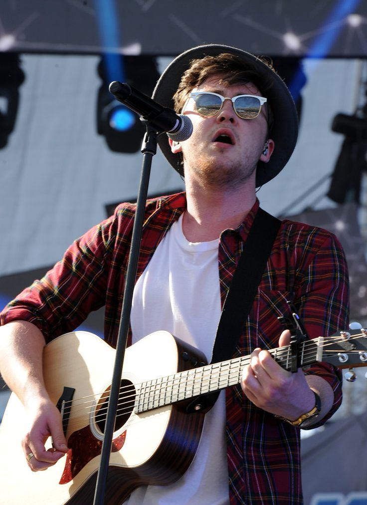 Singer Jake Roche of Rixton performs onstage during 102.7 KIIS FM's 2014 Wango Tango at StubHub Center on May 10, 2014 in Los Angeles, California.