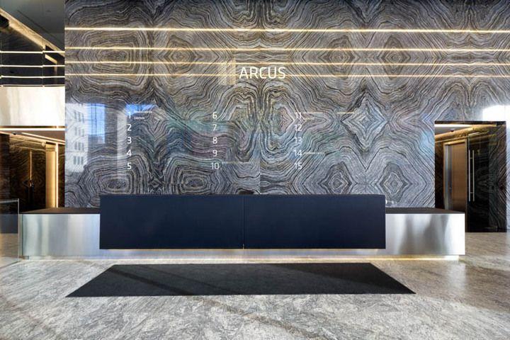 БЦ Arcus III, лобби - OfficeNext