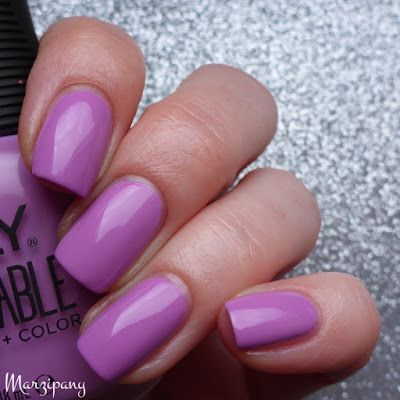 """orly breathable """"tlc"""" - dusty orchid creme #nail polish / lacquer / vernis, swatch / manicure by @marzipany   muted #purple"""