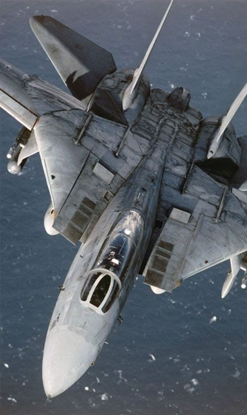 F-14 Tomcat. One of the greatest fighters ever built.