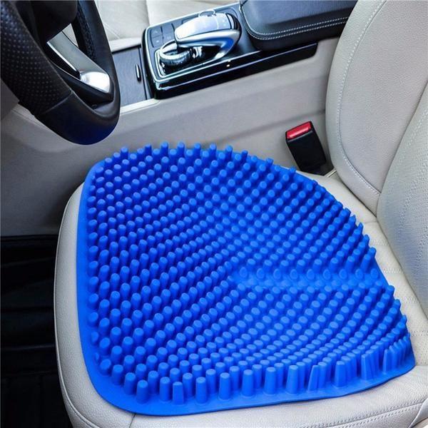 3d Breathable Cool Silicone Seat Cushion Car Seat Cushion Chair Pads Car Seats