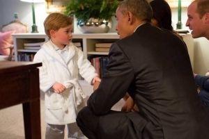 prince Georges et Obama