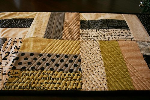image credit: Table Runner For Carol - Quilting Close-up via free images (license)