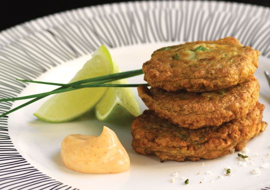 Fritters are a Kiwi classic and these Baby Mussel Fritters with Smoky Aioli are sure to go down a treat!