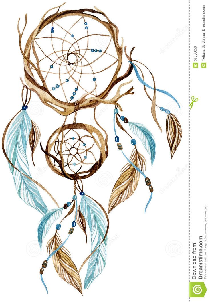 77 best dreamcatcher images on pinterest dream catchers for Watercolor dreamcatcher tattoo