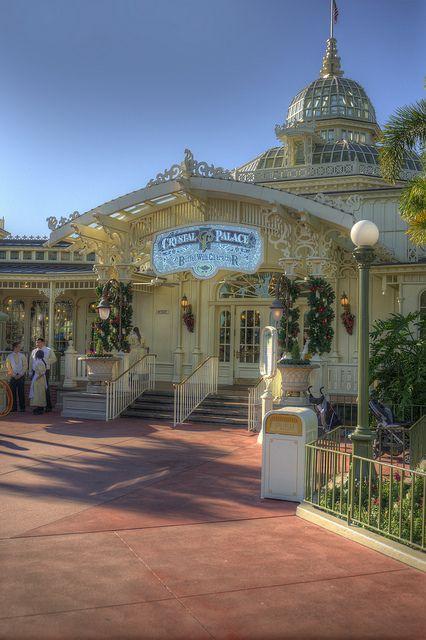 Crystal Palace Restaurant near Main Street, USA in the Magic Kingdom, Walt Disney World, Florida