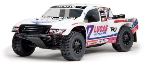 Team Associated 90005 SC10 4x4 RTR Lucas Oil 2.4GHz by Team Associated. Save 45 Off!. $399.99. From the Manufacturer                Team Associated's is proud to present the SC10 4x4 Ready-To-Run-R/C replicas of the 800+ horsepower short course race trucks driven in the Lucas Oil Off Road Racing Series. The SC10 4x4 RTR comes with your choice of three different factory finished bodies: the Lucas Oil truck driven by Carl Renezeder, the Pro Comp truck driven by Travis Coyne, and the…