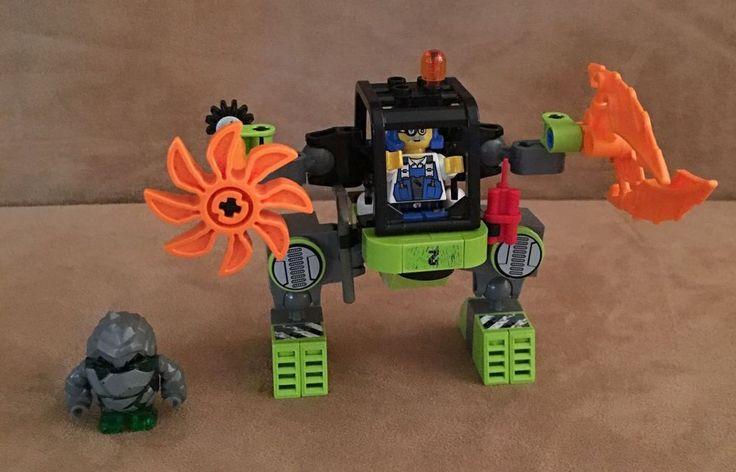 8957 Lego Power Miners Mine Mech complete minifigs rock raiders #LEGO