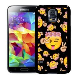 Samsung Galaxy S5 / S5 NEO Mobilskal Emoji Hippies