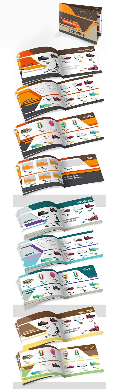 Sport catalog, editorial design