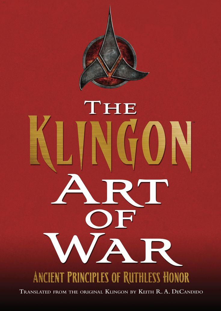 Star Trek The Klingon Art of War Book Cover
