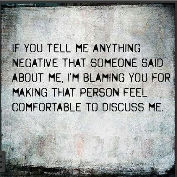 | people who gossip quotes