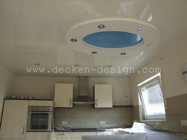 Spanndecke in der Küche Decken Design Pinterest Küche - decke styroporplatten schnell sauber preiswert