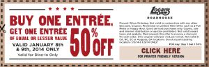 logans roadhouse printable coupon january 2014