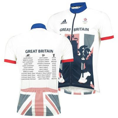 Team GB Commemorative Replica Cycling Jersey - Mens