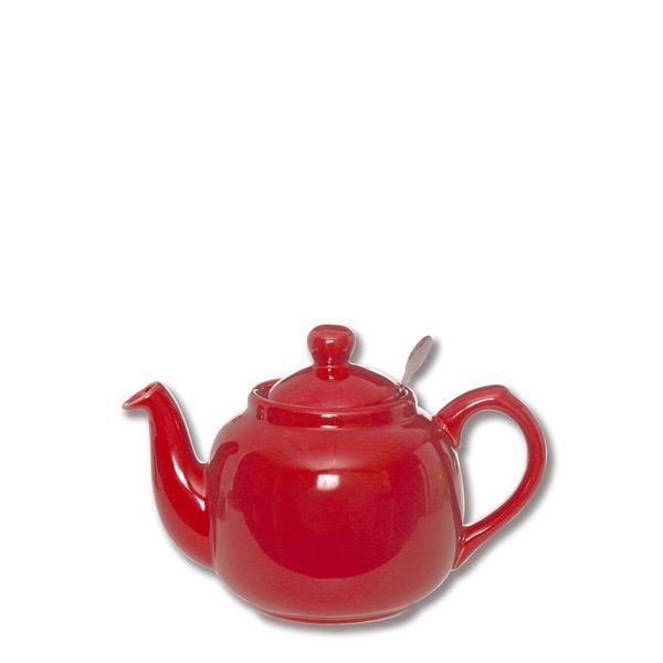 Théière porcelaine Farmhouse rouge PM