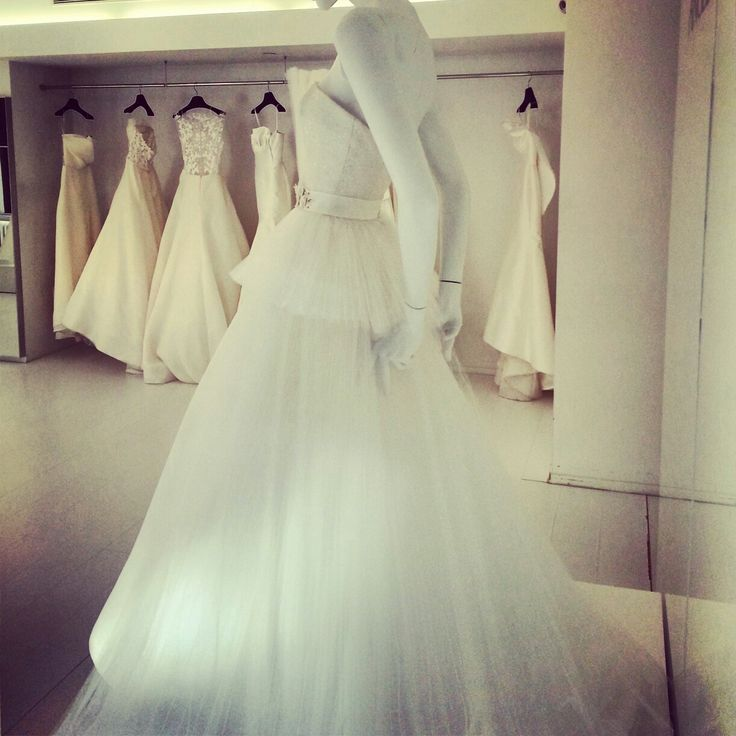 Angel sanchez wedding dresses fall 2014 collection photo for Lace wedding dress instagram
