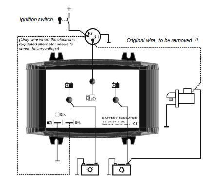 Cristec MOSFET Battery Isolators - Marinebeam LED Lighting