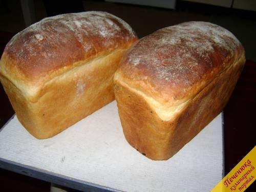 Хлеб в духовке (пошаговый рецепт с фото) — Кулинарный портал Печенюка