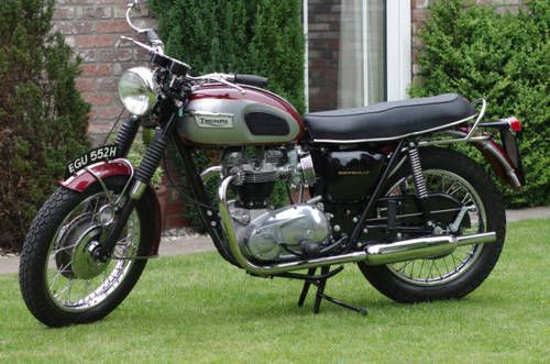 Triumph Bonneville For Sale (1970)