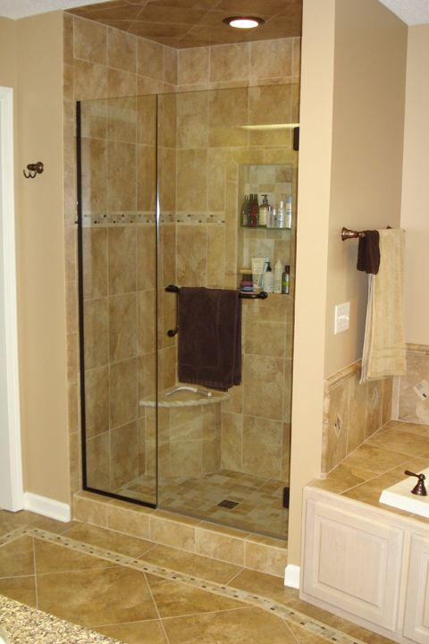 186 Best Images About Bathroom On Pinterest Shower Doors Walk In Shower Designs And Master Bath Shower