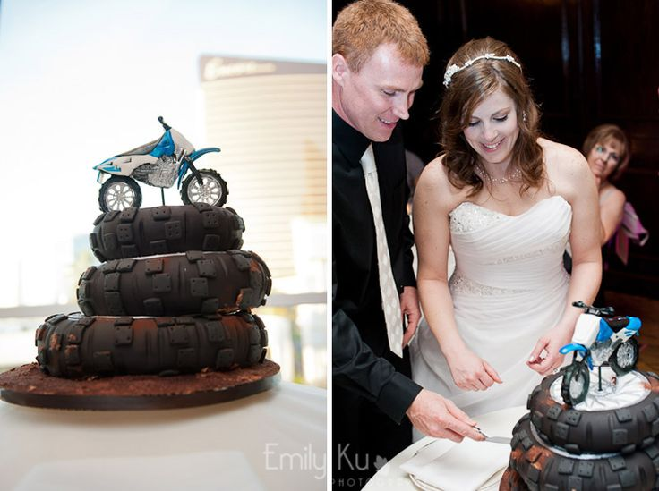 Motocross cake by Las Vegas Custom Cakes