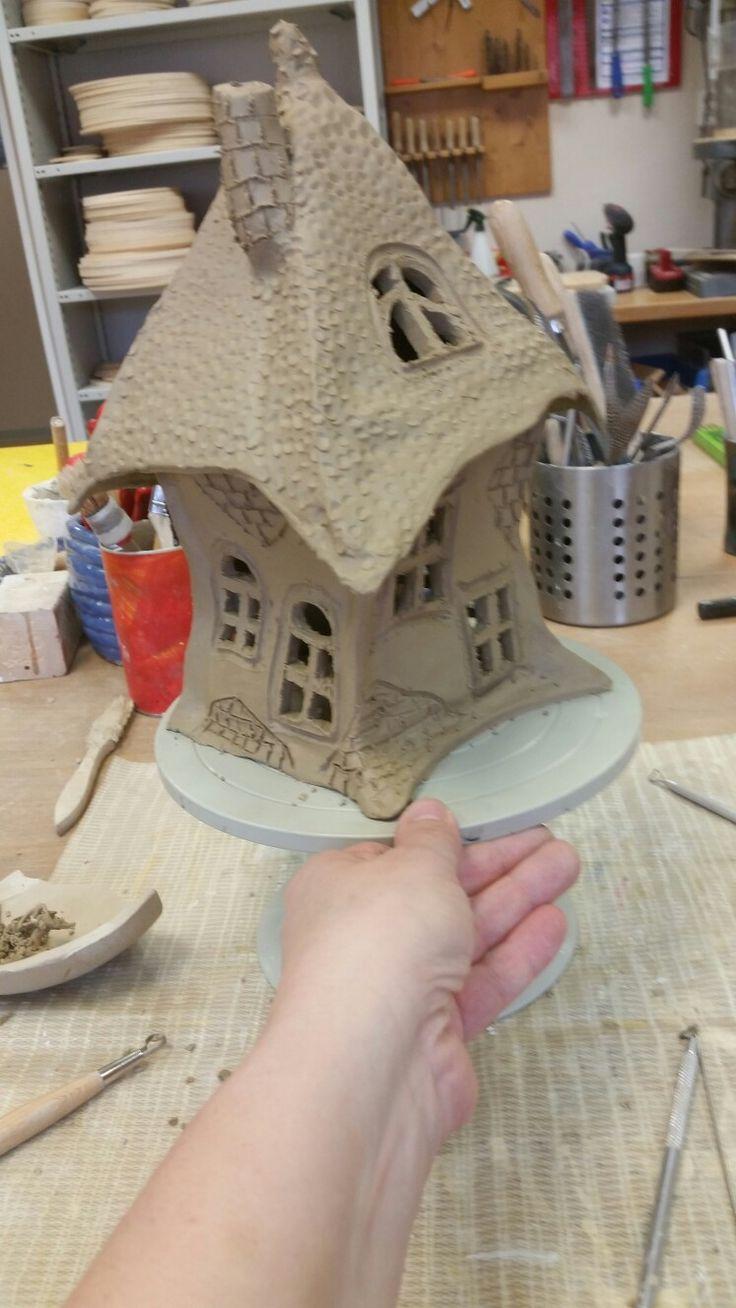Fee Hausidee   – Töpfern Häuser