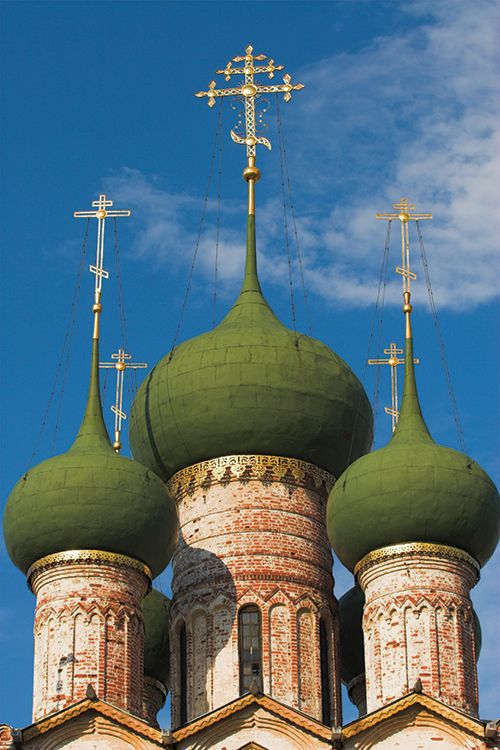Beautiful cathedral domes.
