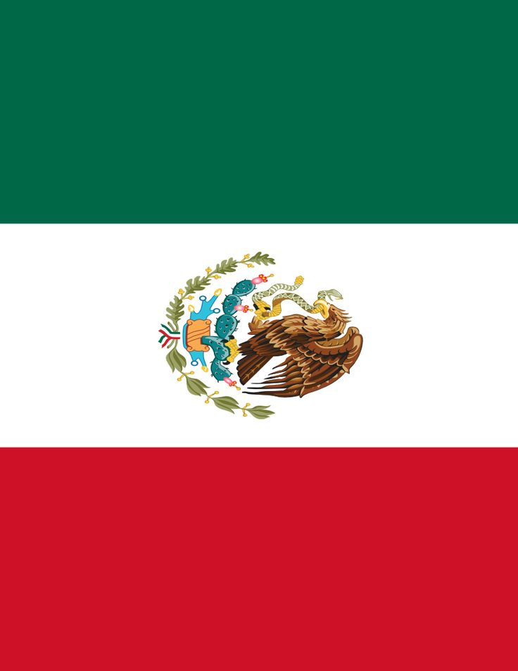 mexico flag full page