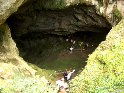 Zeus Cave  on Mount Ida, Crete
