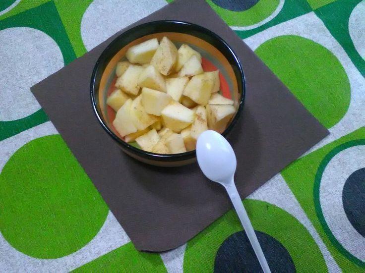 Spuntino di frutta (mele)
