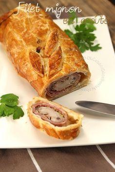 Filet mignon de porc en croûte, jambon cru et moutarde à l'ancienne - Ok Ce Bon!