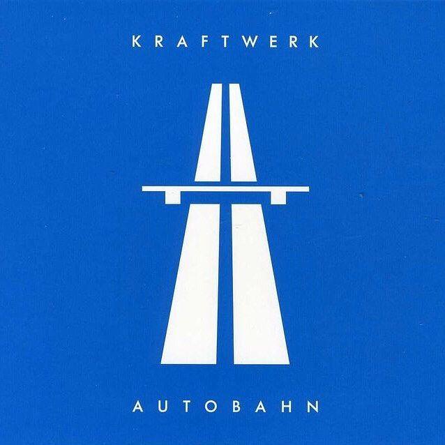 1974 #kraftwerk #autobahn #music #albumcover #vinyl #cd #vintage #electronicMusic #band #germany #german #musician #classic #art #drawing #blue