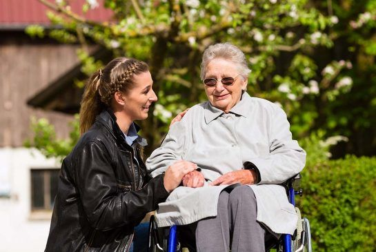 Support is key for the 40 per cent of caregivers who don't live near the person they are caring for.