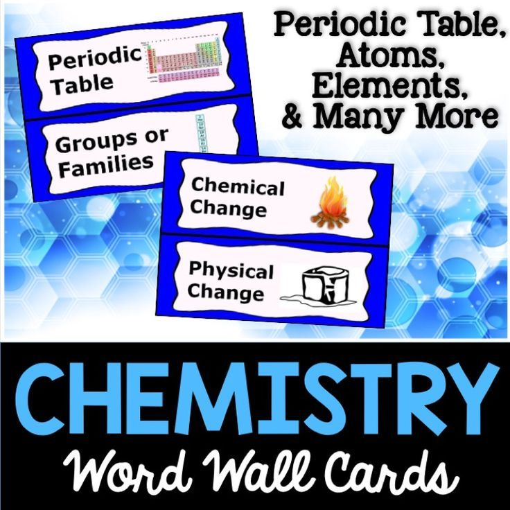 chemistry word wall cards places to visit pinterest chemistry