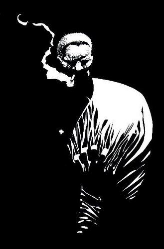 Hard Black & white from Frank Miller