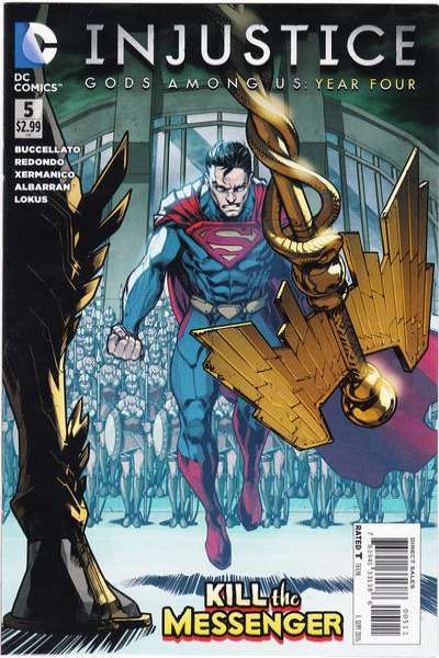 Injustice: Gods Among Us: Year Four #5 comic books for sale