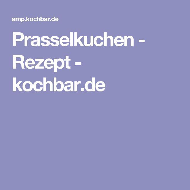 Prasselkuchen - Rezept - kochbar.de